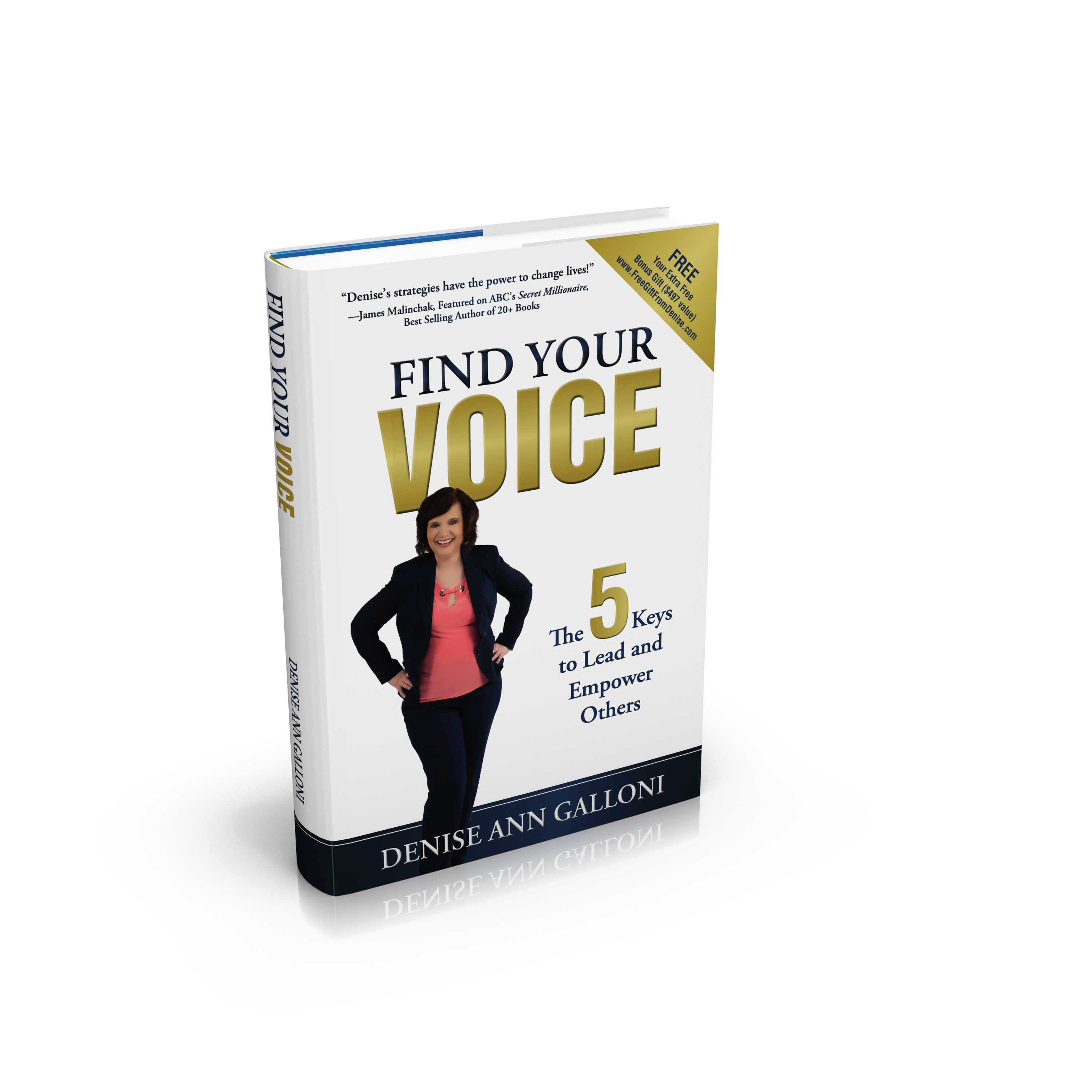 Find Your Voice by Denise Ann Galloni