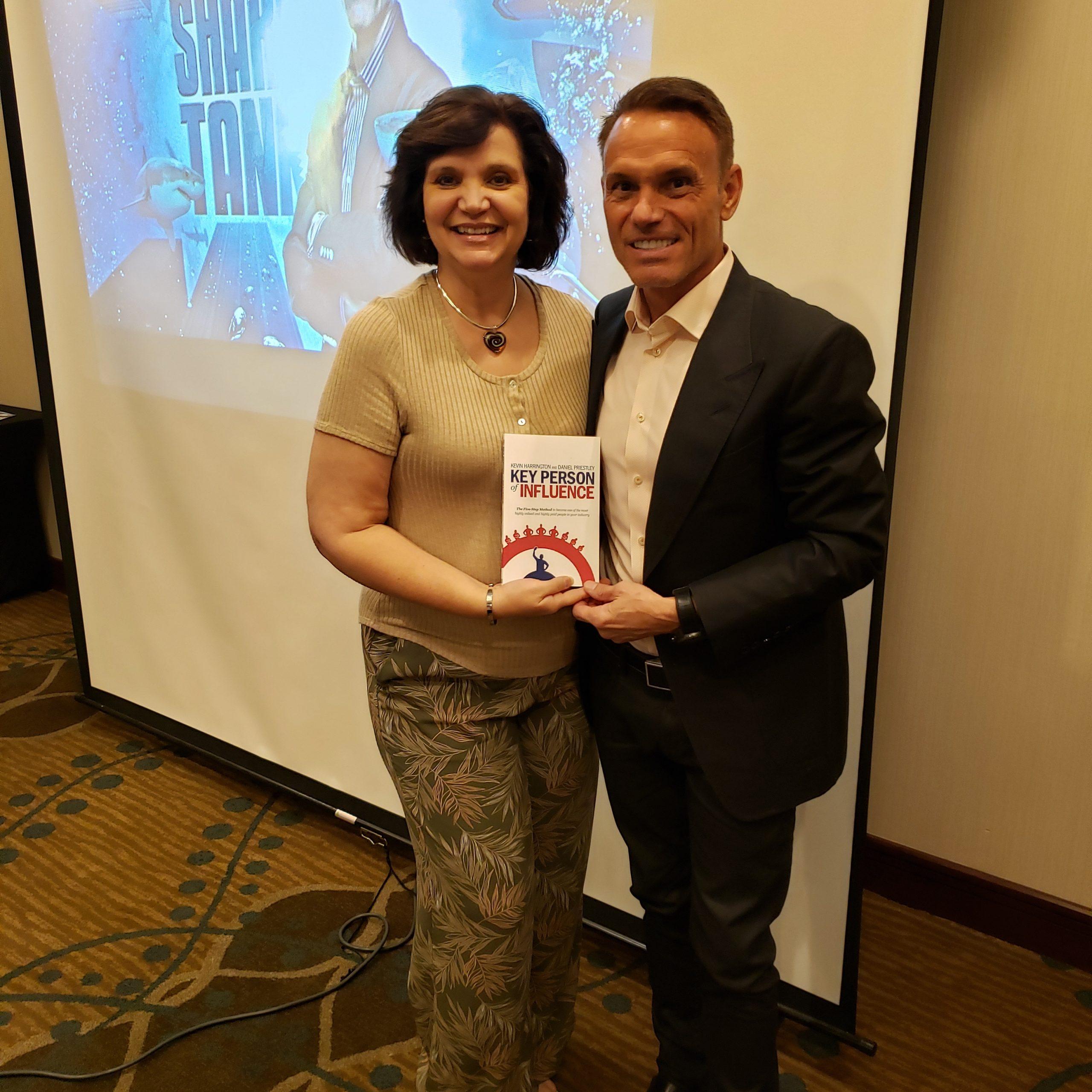 Denise Ann Galloni and Kevin Harrington